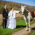 Свадебные прогулки и фотографии