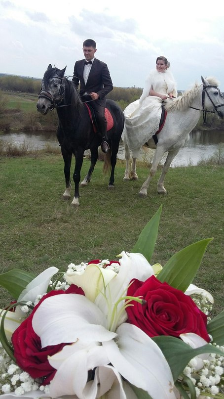 Свадебные фото на берегу Дона