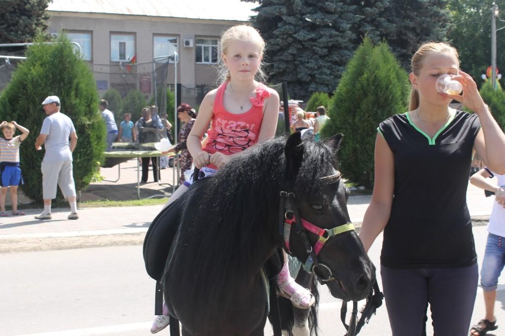 День города в поселке Лев Толстой