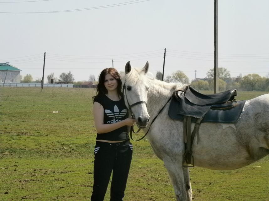 Фотогрфии с лошадью