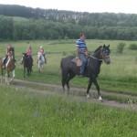 Детский конный поход