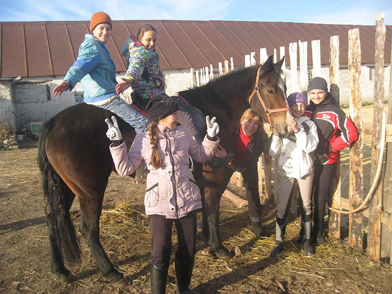 Осенний конный лагерь